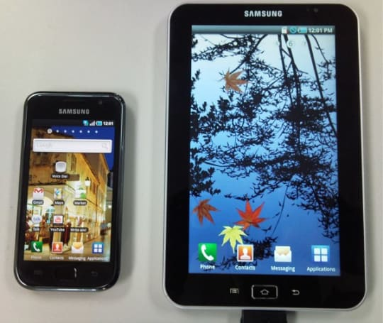 Samsung's 7-inch 'Galaxy Tape' to run Android 2.2 on 1.2GHz A8 processor?