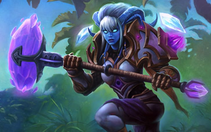 Yrel, the Light of Hope, comes to Characters of Warcraft page