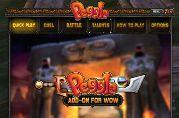 WoW Insider exclusive: PopCap releases Peggle for WoW