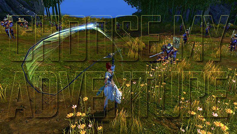Choose My Adventure: Cracking whips in Swordsman
