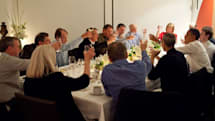 Caption Contest: Obama has dinner with tech industry CEOs
