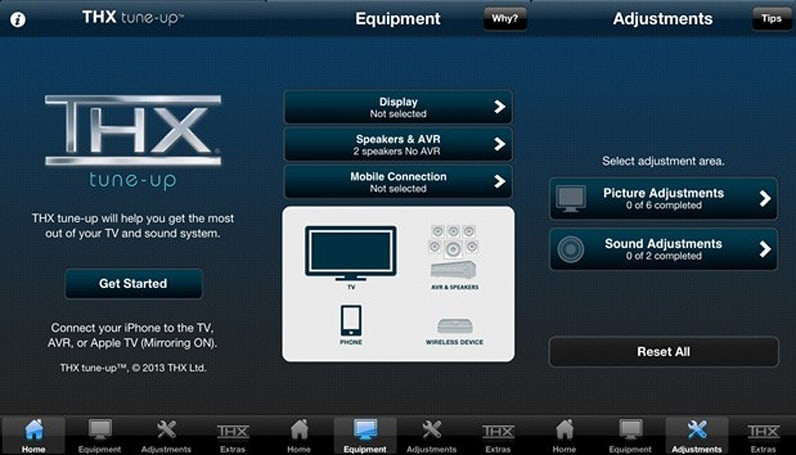 THX releases iOS app for calibrating your home theater's visuals and audio