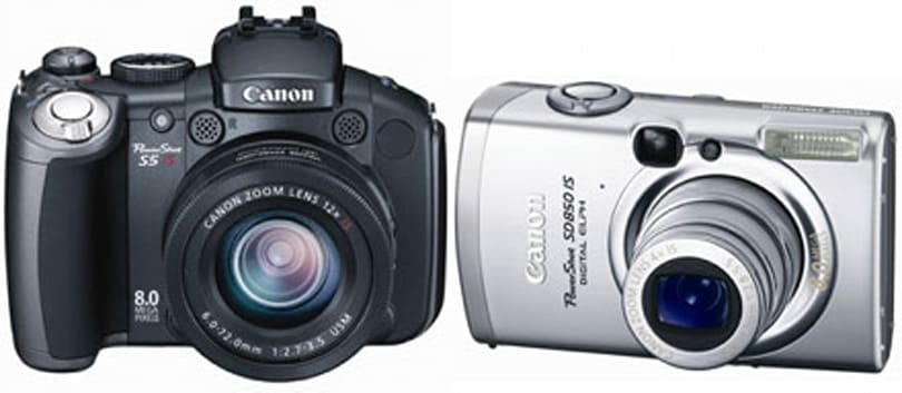 Canon announces PowerShot SD850 / SD950 IS, S5 IS