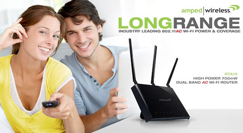 Amped Wireless' flagship RTA15 802.11ac router arrives July 16th for $190 (video)