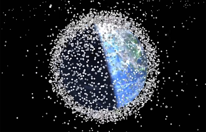 Watch 58 years of space debris appear in 1 minute