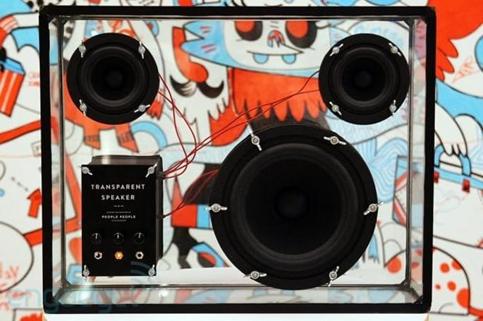 People People AB's Transparent Speaker goes live on Kickstarter, we clearly go hands-on