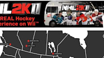 NHL 2K11 riding in an RV across the US this summer