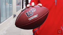 Wilson's smart football brings the big game to the backyard
