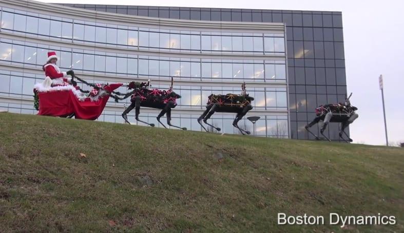Boston Dynamics wishes you a terrifyingly happy holiday