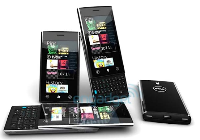 Dell Lightning: the ultimate Windows Phone 7 device leaks out