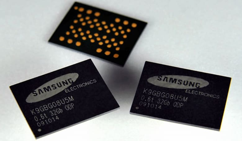 Samsung slims down NAND memory packaging, wafer-thin gadgets to follow