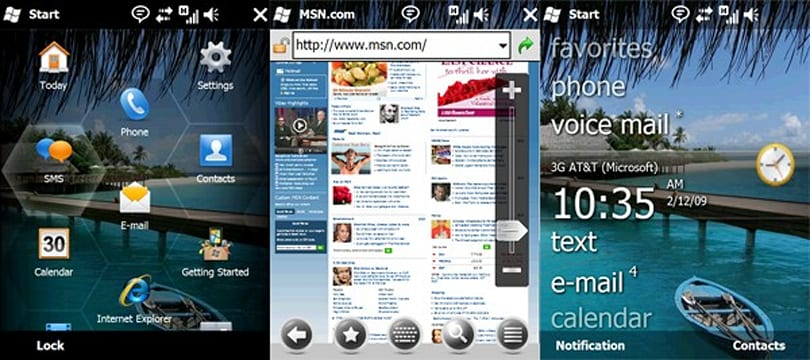"""Switched On: The """"phonetastic four"""" versus Windows Mobile"""