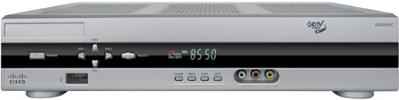 Cisco reveals 8500HDC DVR set-top-box series