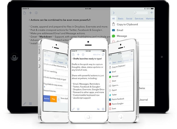 Apple's ban hammer on Notification widgets now targeting popular note-taking app Drafts