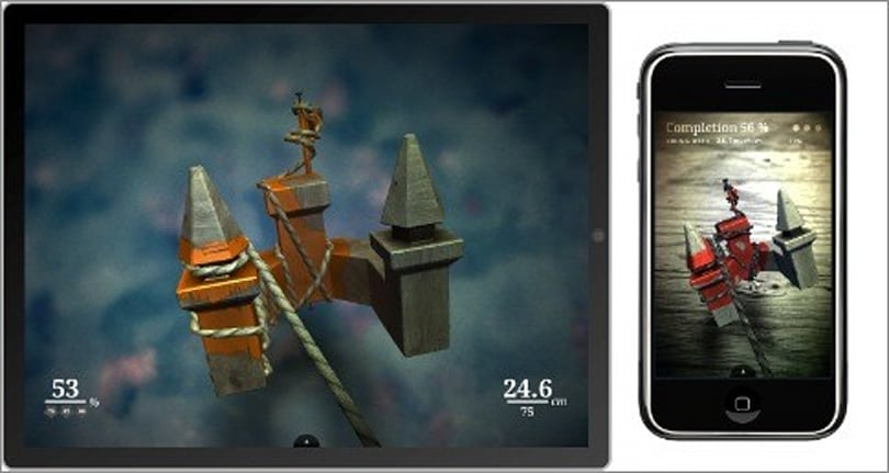 From iPhone to iPad: Revisiting Zen Bound 2