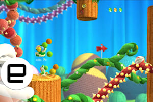 Playdate: We're Exploring 'Yoshi's Woolly World'