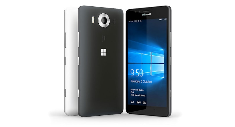 The Lumia 950 vs. the competition: a battle of flagships