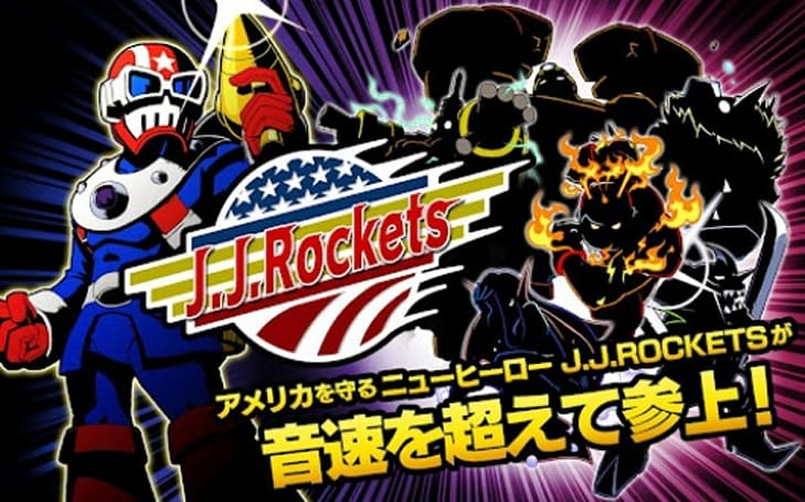Mega Man creator's JJ Rockets hits Android in Japan, stars US president