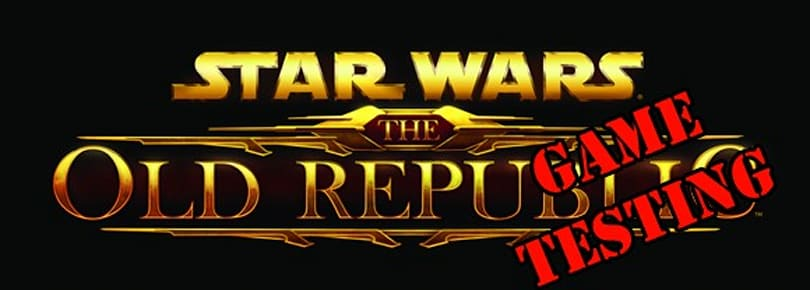 The official, official SWTOR game testing announcement