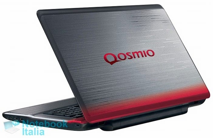 Toshiba Qosmio X770 gaming laptop surfaces, 3D optional