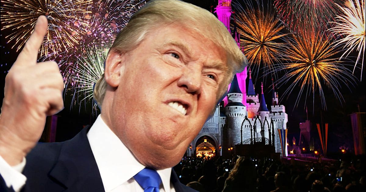 Yes, Donald Trump Is Going In Disney's Hall Of Presidents