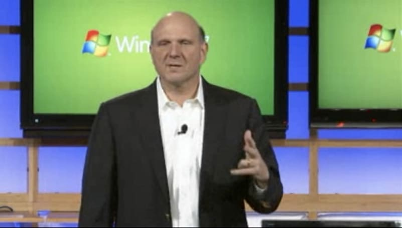Windows 7 launch event with Steve Ballmer (watch now)