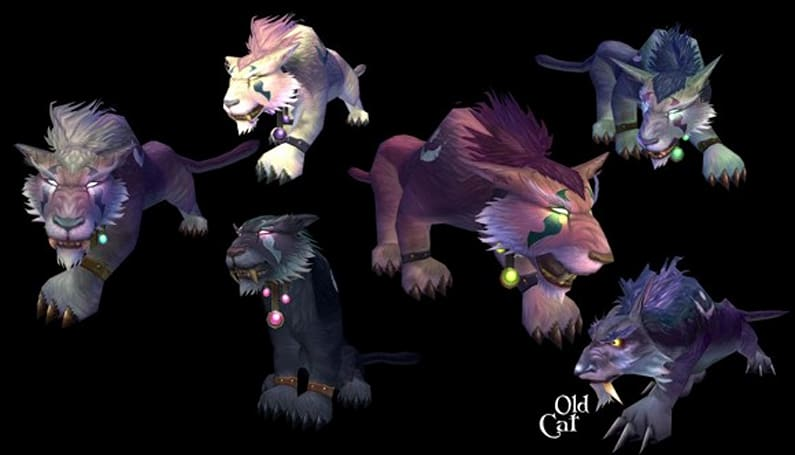 Revamped Night Elf Druid cat form revealed