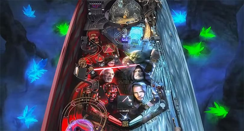 Yoda is in deep Sith in Zen Studios' latest Star Wars Pinball table
