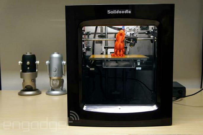 Solidoodle 4 keeps 3D printing under $1,000 (video)