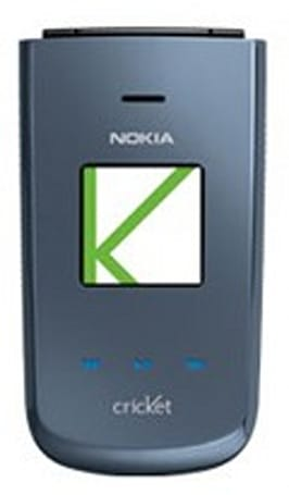 Nokia's 3606 flip phone slips onto Cricket Wireless