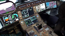 Airbus A350 cockpit tour with test pilot Jean-Michel Roy (video)