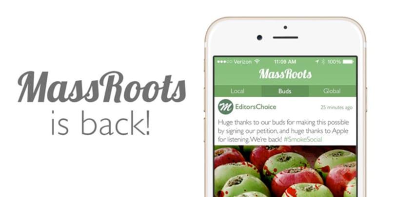 Apple decides marijuana app belongs in the App Store after all