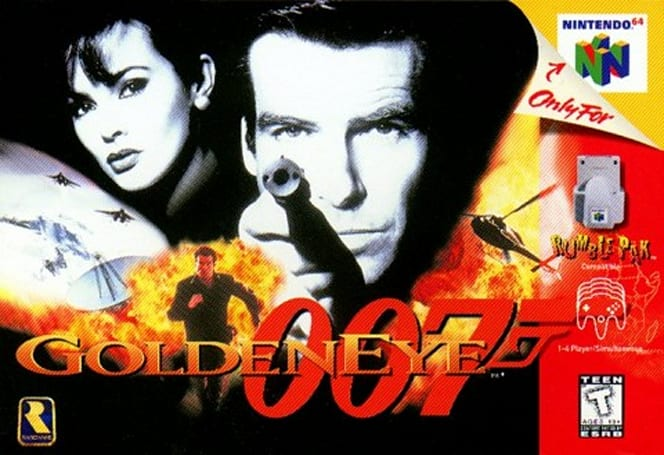 No Mr. Brosnan, we expected you to die in GoldenEye 007