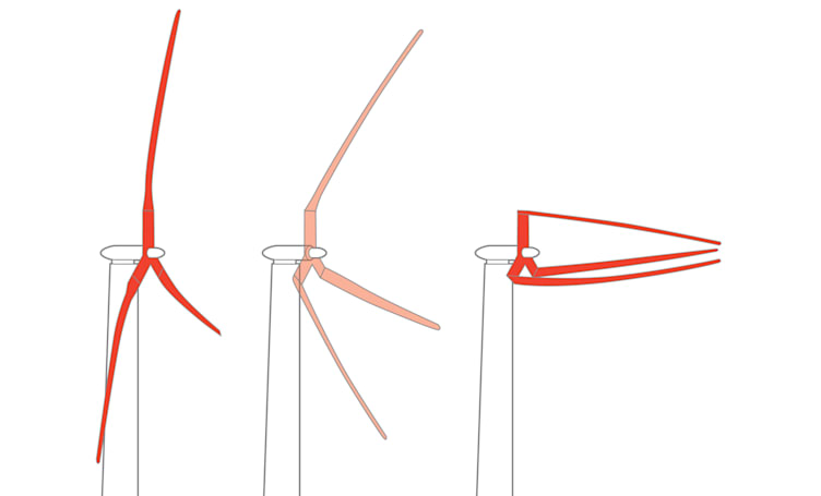 Folding offshore wind turbines could power 10,000 US homes