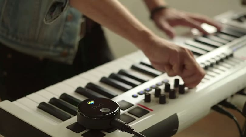 iOS and Mac musicians can ditch wires with Bluetooth MIDI device