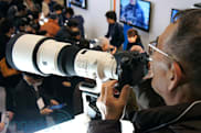 Sony 500mm f/4 G SSM lens hands-on (video)
