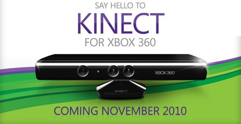 Kinect moves into retail this November