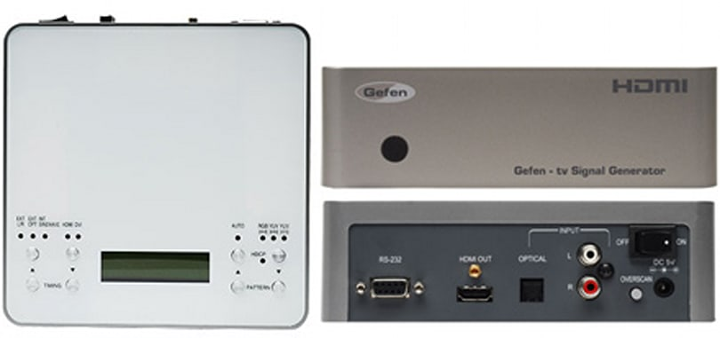 Gefen's TV Signal Generator for HDMI helps you troubleshoot