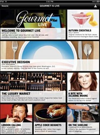 New Yorker, Gourmet iPad apps debut