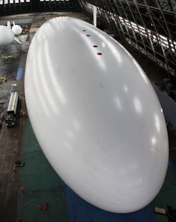 This giant military spy blimp is really hard to miss