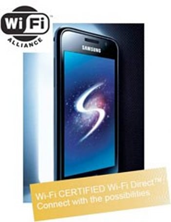 Samsung Galaxy S first smartphone to be Wi-Fi Direct certified