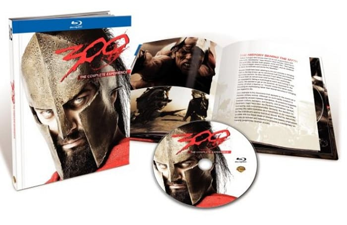 300: The Complete Experience double dips on Blu-ray July 21