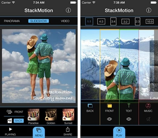 Daily App: StackMotion lets you create dynamic photos by combining images, video, text and music