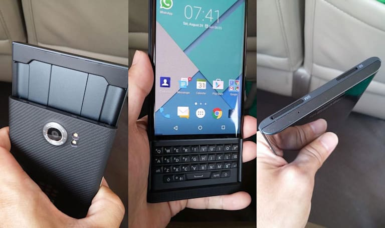 BlackBerry's Android-powered Venice phone surfaces in the wild