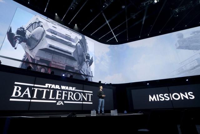 12 月 6 日,一起投入 VR 版星战的《战场前线》