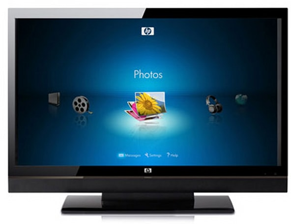 HP ships bevy of 720 / 1080p LCDs, MediaSmart TV to follow suit