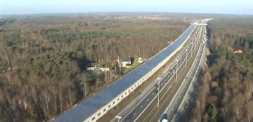 Europe's first solar powered train tunnel goes live on Belgian high-speed line (video)