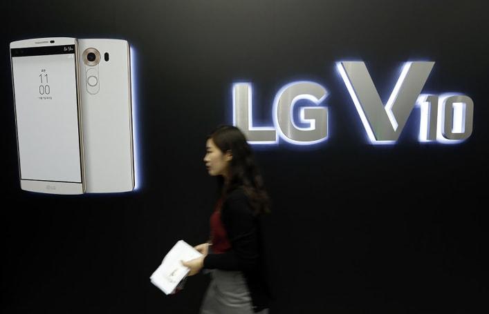 LG's weak mobile sales drag down profits again