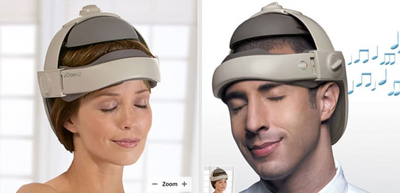 OSIM uCrown 2 rubs your head, looks like an electric chair appendage
