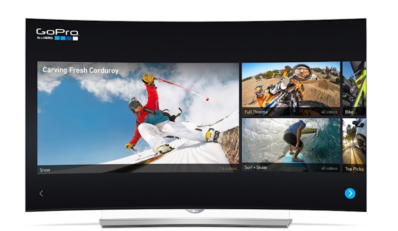 LG's TVs get 4K video from DirecTV, Netflix, YouTube and GoPro